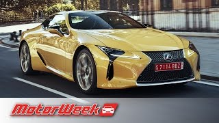 First Look: 2018 Lexus LC500 & LC500h