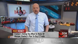 Jim Cramer: An odd day for the market to take a dive