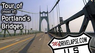 Tour of Portland, Oregon's Beautiful Bridges