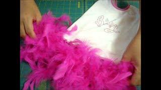 pink dog tutu dress