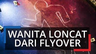 Kronologi Seorang Driver Ojol Wanita di Bogor Tewas Setelah Loncat dari Atas Flyover Cileungsi