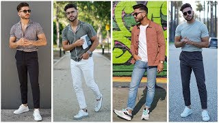 4 EASY SUMMER OUTFITS FOR MEN 2019 | MENS FASHION & STYLE INSPIRATION LOOKBOOK | Alex Costa