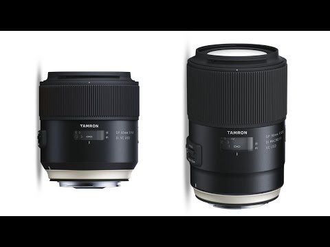 Tamron 85mm VC and 90mm Macro - PREVIEW