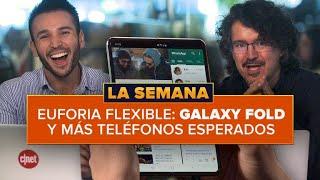 Galaxy Fold y celulares flexibles de MWC 2019