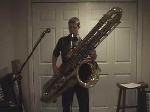 Saksofon kontrabasowy