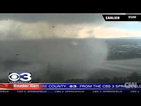Unbelievable Shocking 3000ft High Tornado On Water June 1st 2011 New (Raw Video)