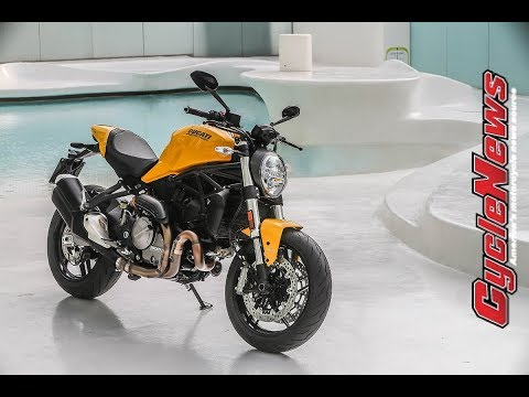 2018 Ducati Monster 821 Launch Test -- Cycle News