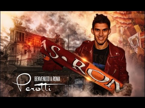 Diego Perotti - Welcome to A.S Roma - Best Goals,Dribbles & Skills - 2016 - HD