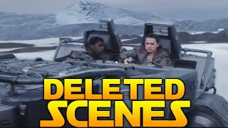 Star Wars The Force Awakens: All Deleted Scenes Review!