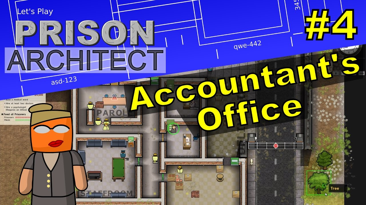 Prison Architect #4 | Accountant's Office
