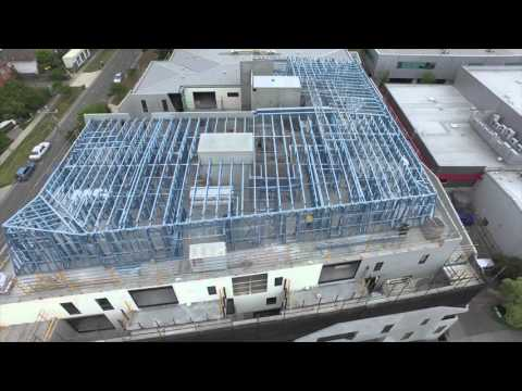 Dynamic Steel Frame - PARAGON APARTMENTS, BLACKBURN