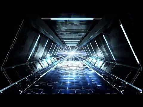 sci-fi tunnel vj loop HD FREE