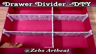 Drawer Divider - DIY ( Organizer )
