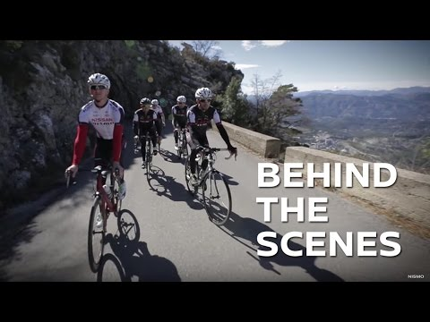 Extreme cycling training camp - NISMO racing drivers train in Monaco