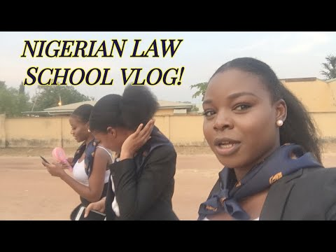 A DAY IN THE LIFE OF A NIGERIAN LAW SCHOOL STUDENT|| VLOG || What Law School is really like!