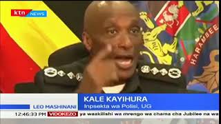 Inspector Joseph Boinnet on the ongoing conflict in Migingo Island