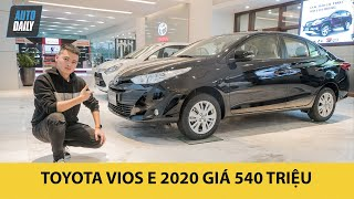 So sánh trang bị trên Toyota Vios E 540 triệu và Toyota Vios G 570 triệu