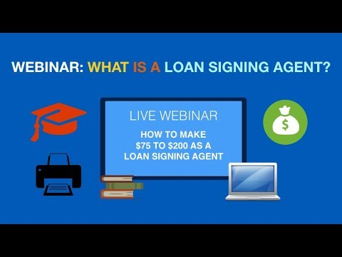 Webinar Training Course: How to Become a Successful Notary ...
