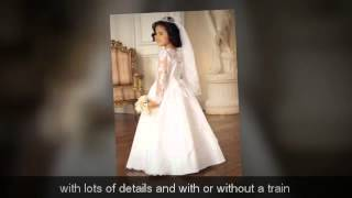 First Communion Dresses - How To Choose The Perfect Communion Dress For Your Daughters Communion
