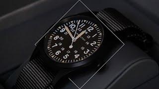 Hamilton Khaki Field Mechanical Black PVD H69409930 Review - Chisholm Hunter