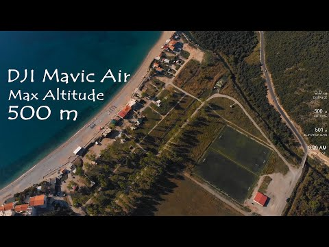 DJI Mavic Air - Altitude Test 500m