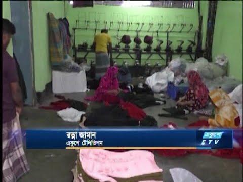 শীতে গরম কাপড় তৈরিতে ব্যস্ত কেরানীগঞ্জের গার্মেন্টস পল্লী | ETV News