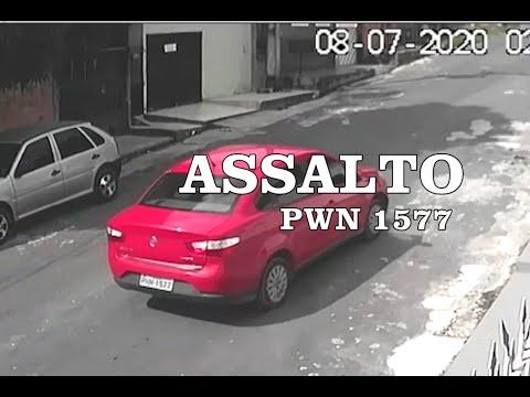 Arrastada pelo assaltante após perder o carro !