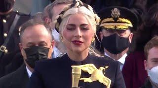 Lady Gaga zaśpiewała hymn na inauguracji prezydenta USA Joego Bidena