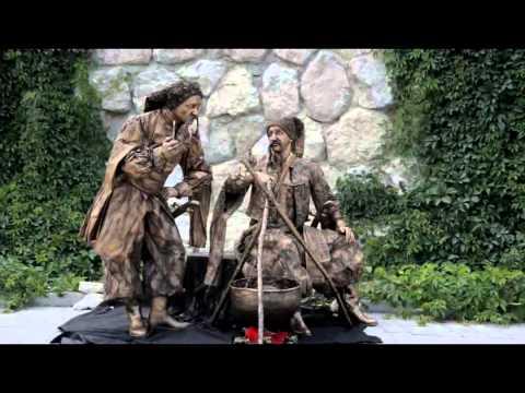 """Міми. живі статуї -  """"IF..."""", відео 2"""