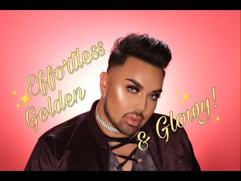 Effortless, Golden & Glowy Makeup Tutorial | mac daddyy | Angel Merino