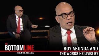 The Bottomline: Boy Abunda's life lessons