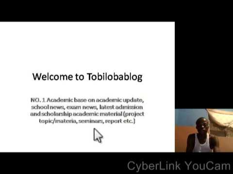 Welcome to Tobilobablog No. 1 education blog