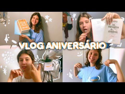 vlog semana de aniversário 🥳 | vlog de leitura #05