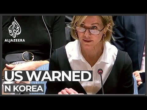 US: N Korea missile tests are 'deeply counterproductive'