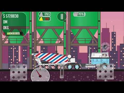 I PLAY THE GAME TRUCKER JOE TRANSLATE CONCRETE TO THE CONSTRUCTION OF THE SEAPORT