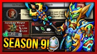 Knights and Dragons - SEASON 9 ARMORS!! BEST Heroic Mode REWARDS! Upcoming TOP 3 INSANE Guild War!