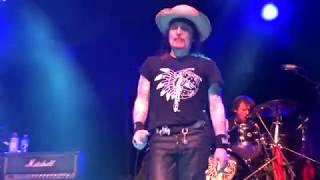 Adam Ant live -- Greta X (clip) + band intros -- Orlando Feb 3, 2018