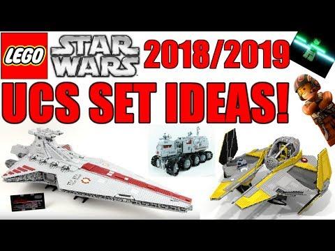 LEGO Star Wars UCS Set Ideas!   UCS Venator, UCS AT-AT, UCS