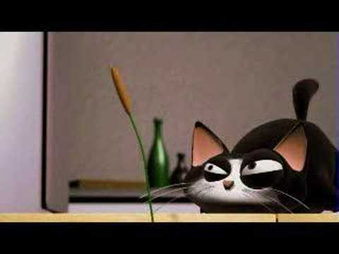 Funny Cats ECards A funny 3d anymation a bout a cat funny cats