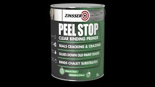 How to stop peeling in ceilings