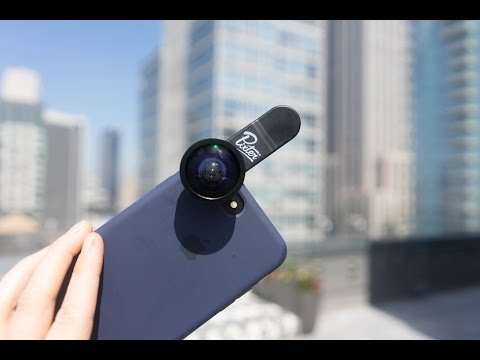 PIXTER REVIEW: Wide Angle Smartphone Lens