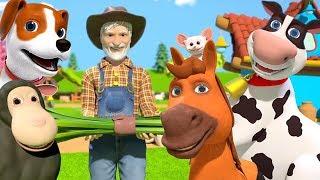 Old Macdonald Had a Farm | Kindergarten Nursery Rhymes for Kids by Little Treehouse
