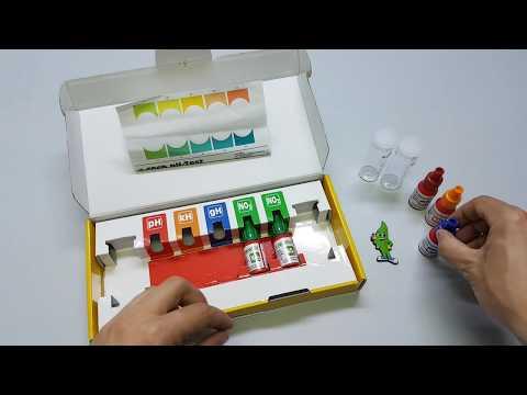 Aquaplantsonline Unboxing Sera Aqua Test Set