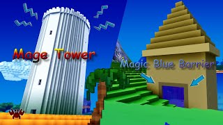 Cube World 2019 - How To Open Magic Blue Barrier - Blue Door ...