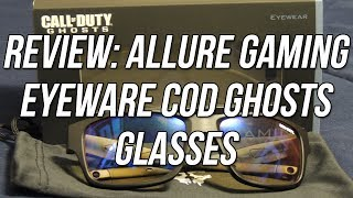 Review - Allure Gaming Eyewear: Call of Duty Ghosts Edition Glasses