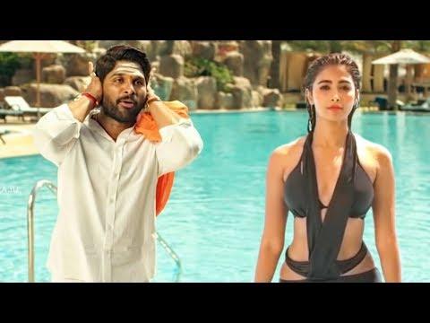 Pooja Hegde Swimming Pool Scene From Movie DJ (Duvvada Jagannadham)