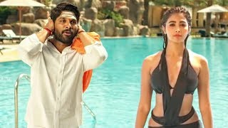 Pooja Hegde Swimming Pool Scene From Movie DJ (Duvvada Jagannadham)