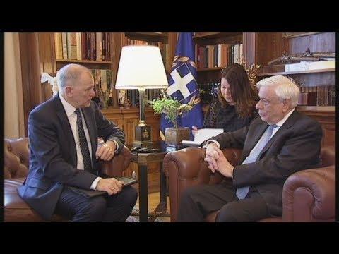 Συνάντησης του ΠτΔ με τον Ευρωπαίο επίτροπο Υγείας