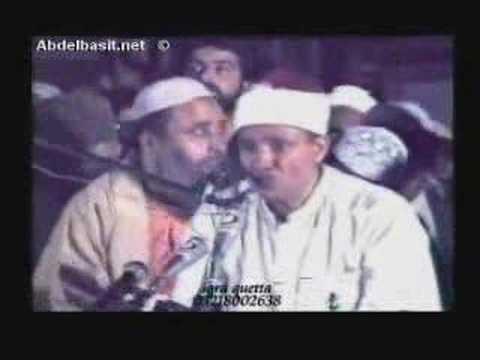 BREATHTAKING Qari Abdul Basit - Surah Haqqah LIVE