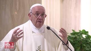Papa: com a paz de Jesus, suportar as provações da vida